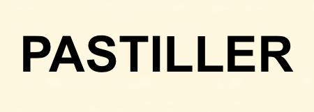 PASTILLER