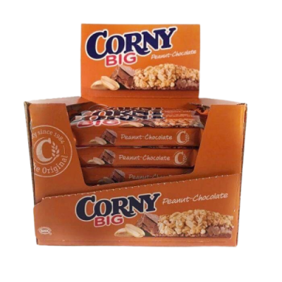 Corny Peanuts/Chokolade – 24 stk.