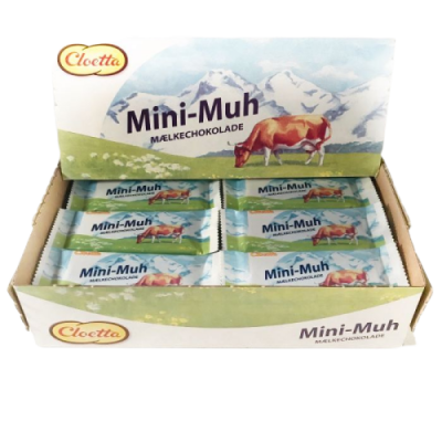 Mini Muh Mælkechokolade – 48 stk.