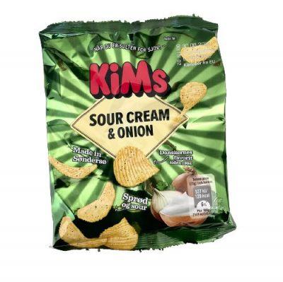 Kims Sour Cream & Onion Miniposer - 24 stk.