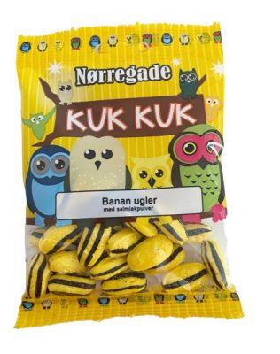 Nørregade Banan Ugler - 1 stk.