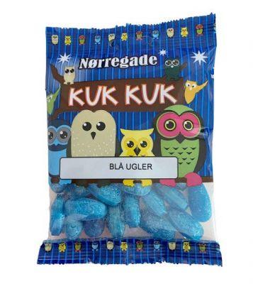 Nørregade Blå Ugler - 1 stk.