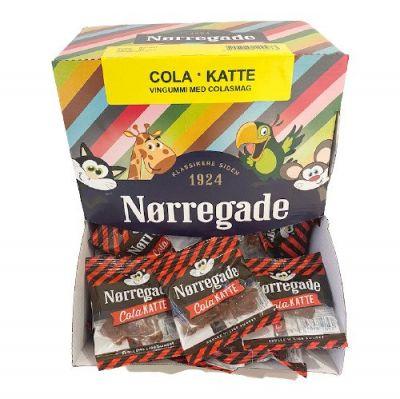 Nørregade Cola Katte Mini - 100 stk.