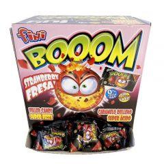 Booom Sur Jordbær - 200 stk.