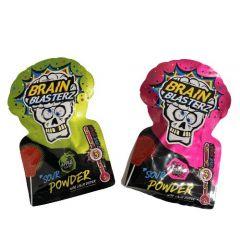 Brain Blasterz Sour Powder Med Slikkepind - 30 stk.