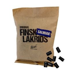 Finsk Lakrids Salmiak - 1 stk.