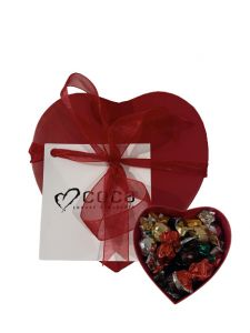 Hjerte Med Chokolade - 1 stk.