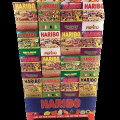 Haribo Miniposer Blandet - 2360 stk.