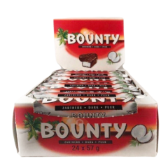 Bounty Mørk - 24 stk.