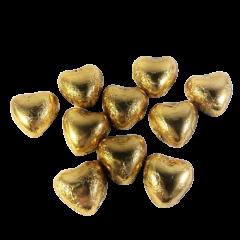 Guld Hjerter - 120 stk.