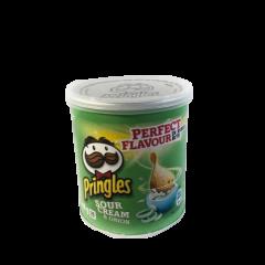 Pringles Sour Cream & Onion - 12 stk.