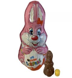 Kinder Surprise Hare Lyserød - 1 stk.