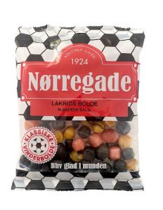 Nørregade Lakrids Bolde - 1 stk.
