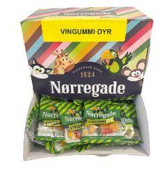 Nørregade Vingummi Dyr Mini - 100 stk.