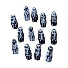 Halloween Skeletter - 13 stk.