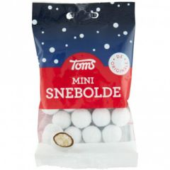 Toms Mini Snebolde - 1 stk.