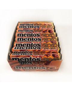 Mentos Chokolade & karamel - 24 stk.