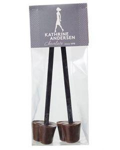 Kathrine Andersen Rørpinde Chokolade - 2 stk.