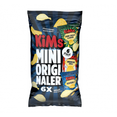 Kims Mini Originaler - 6 stk.